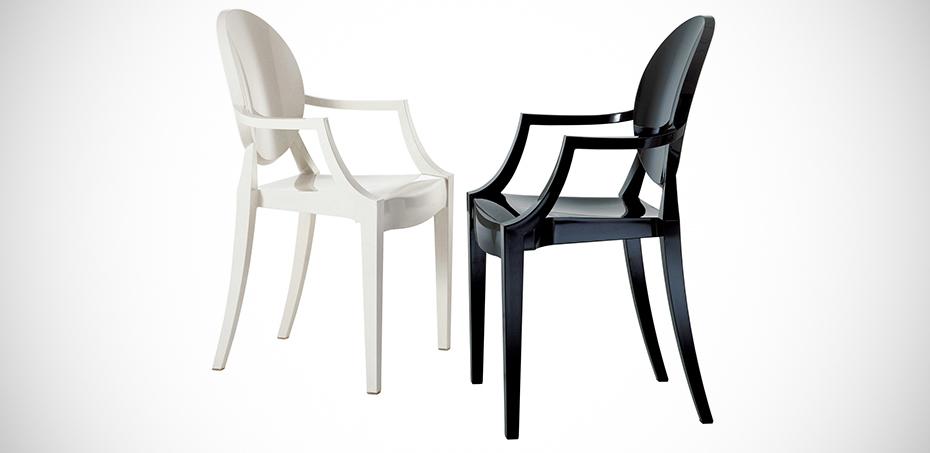 Design Stoelen Philippe Starck.Design Stoelen Louis Ghost Bij Kartell