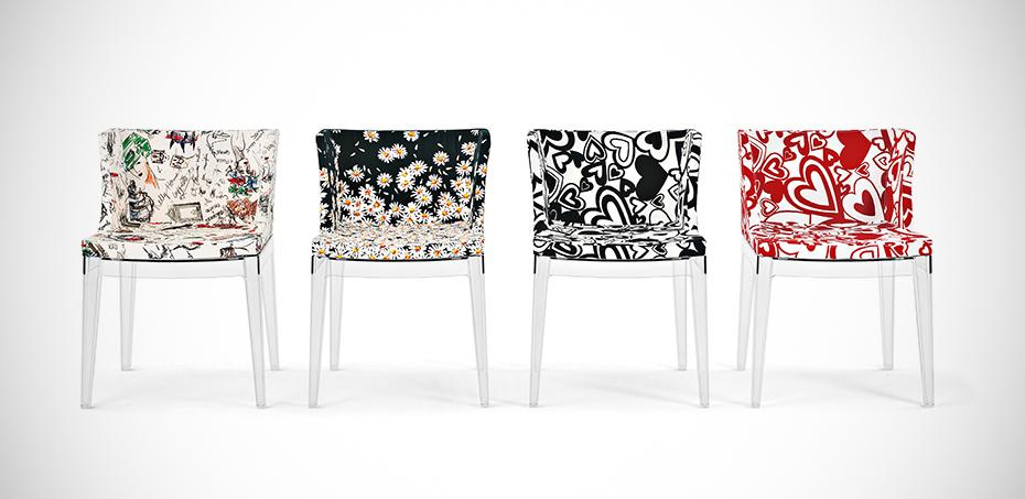 Design Stoelen Philippe Starck.Design Stoelen Mademoiselle Bij Kartell