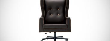 Klassieke kantoorstoelen luxe lederen italiaanse stoelen for Kantoorstoelen