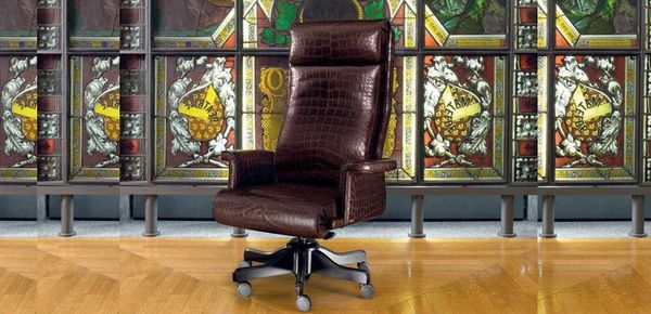Vip Mascheroni leather armchair